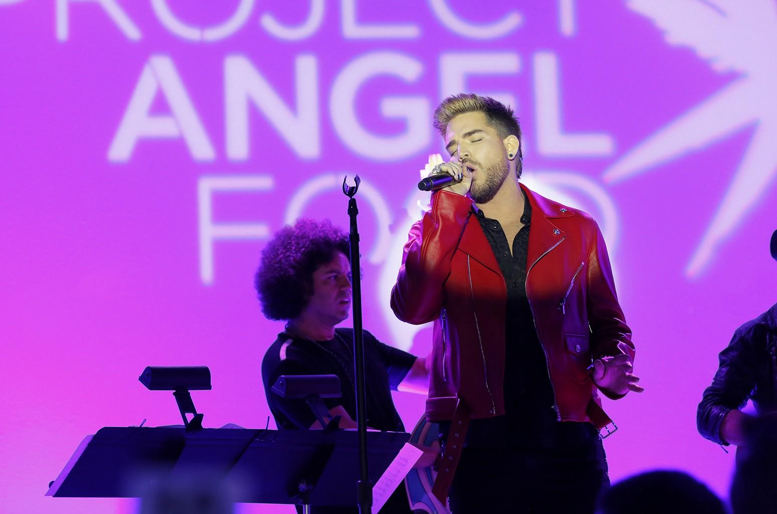 Adam Lambert, Project Angel Food's 2017 Angel Awards