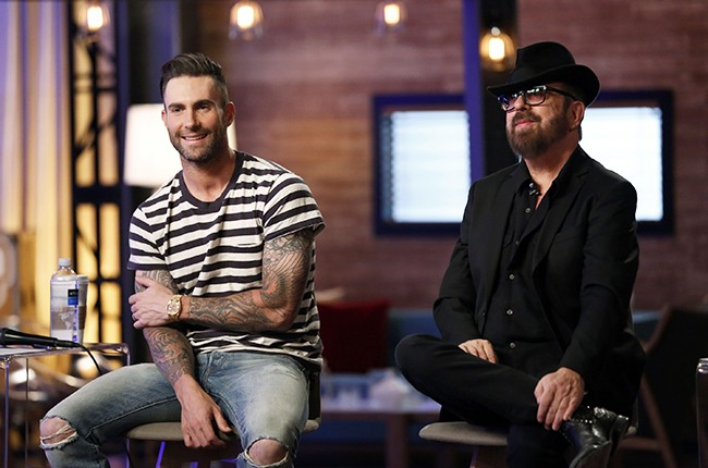 Adam Levine and Dave Stewart