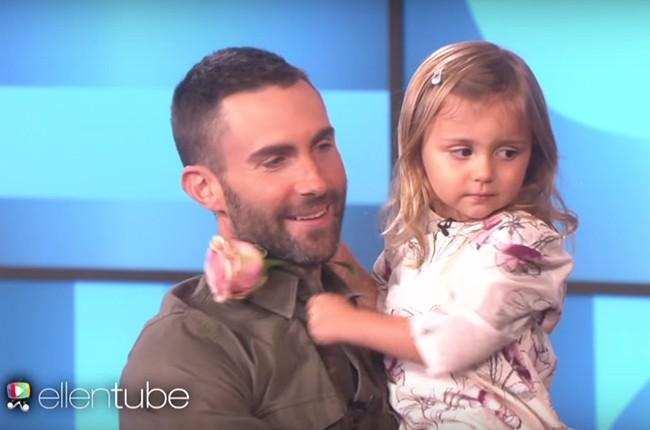 Adam Levine The Ellen DeGeneres Show