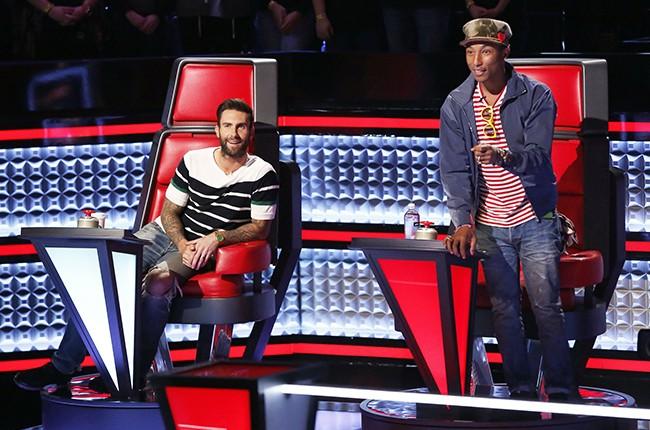 The Voice? Judges Adam Levine and Pharrell Williams