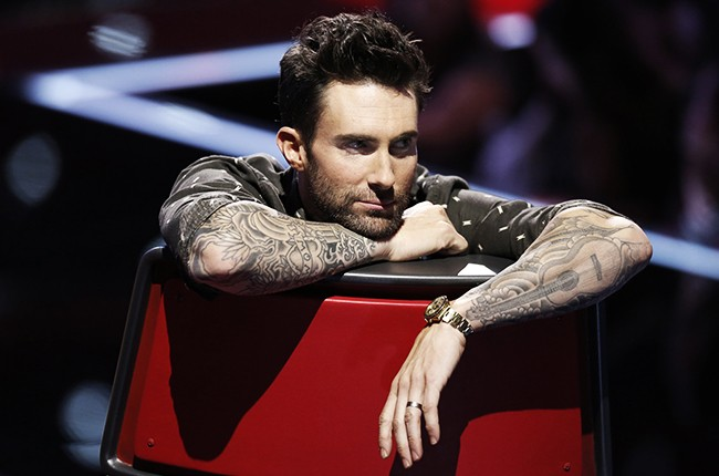 Adam Levine on NBC's The Voice