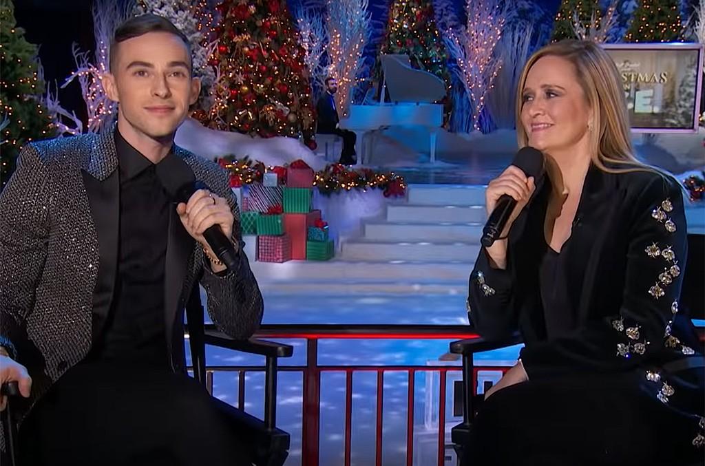 Adam Rippon and Samantha Bee