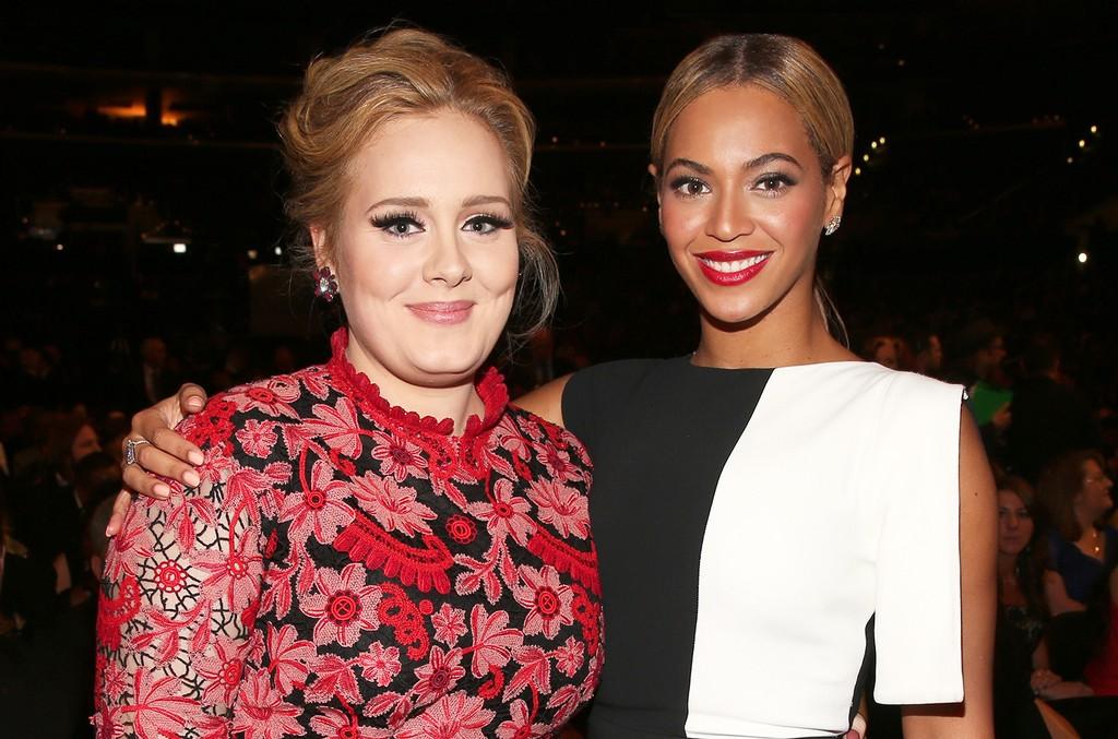 Adele and Beyonce 2016