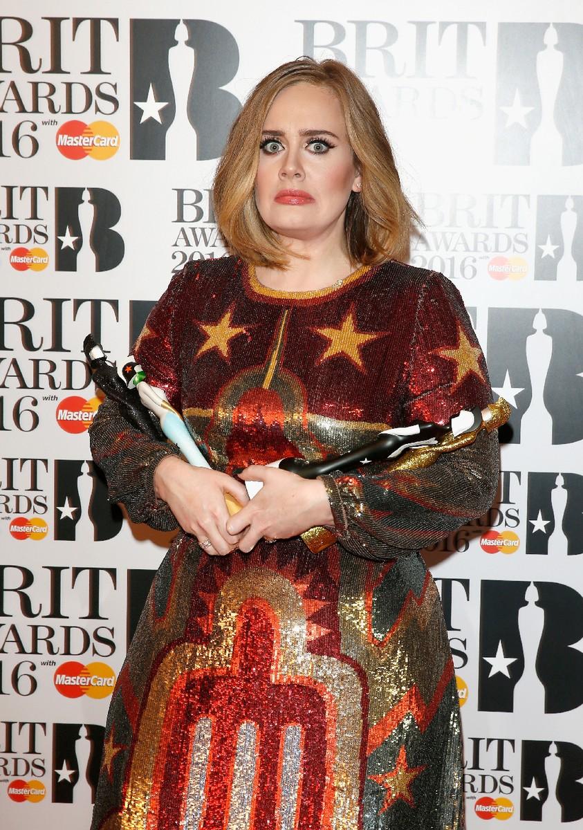 Adele Brit Awards