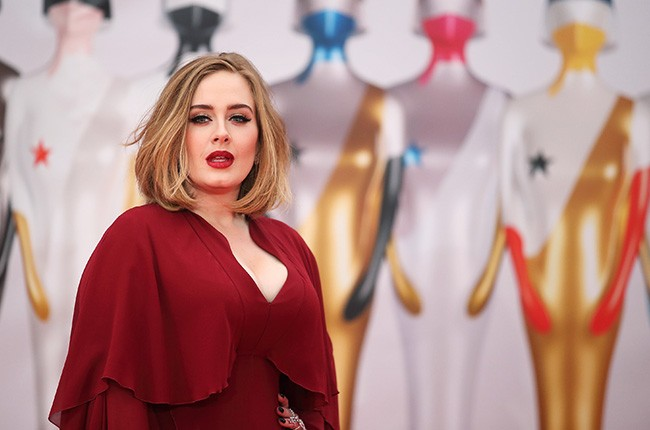adele, brits, 2016 red carpet