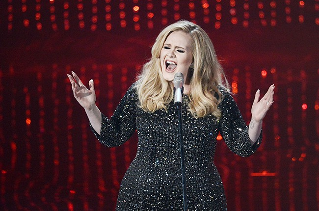 Adele performs at the Oscars.
