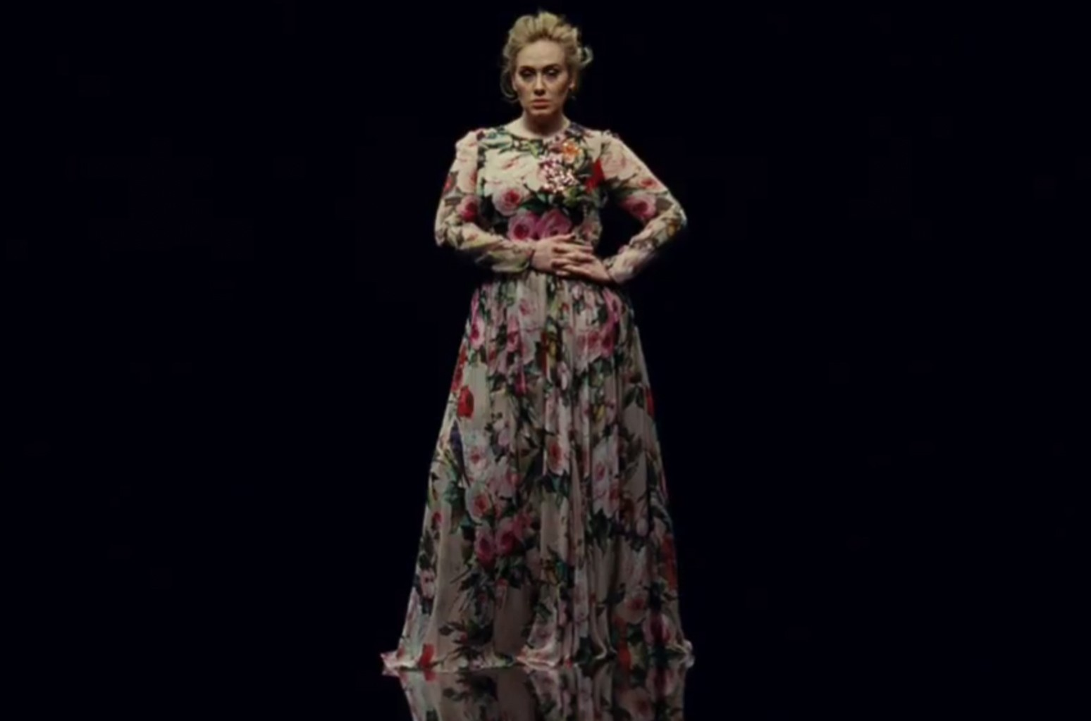 "Adele in the video for ""Send My Love (To Your New Lover)"""