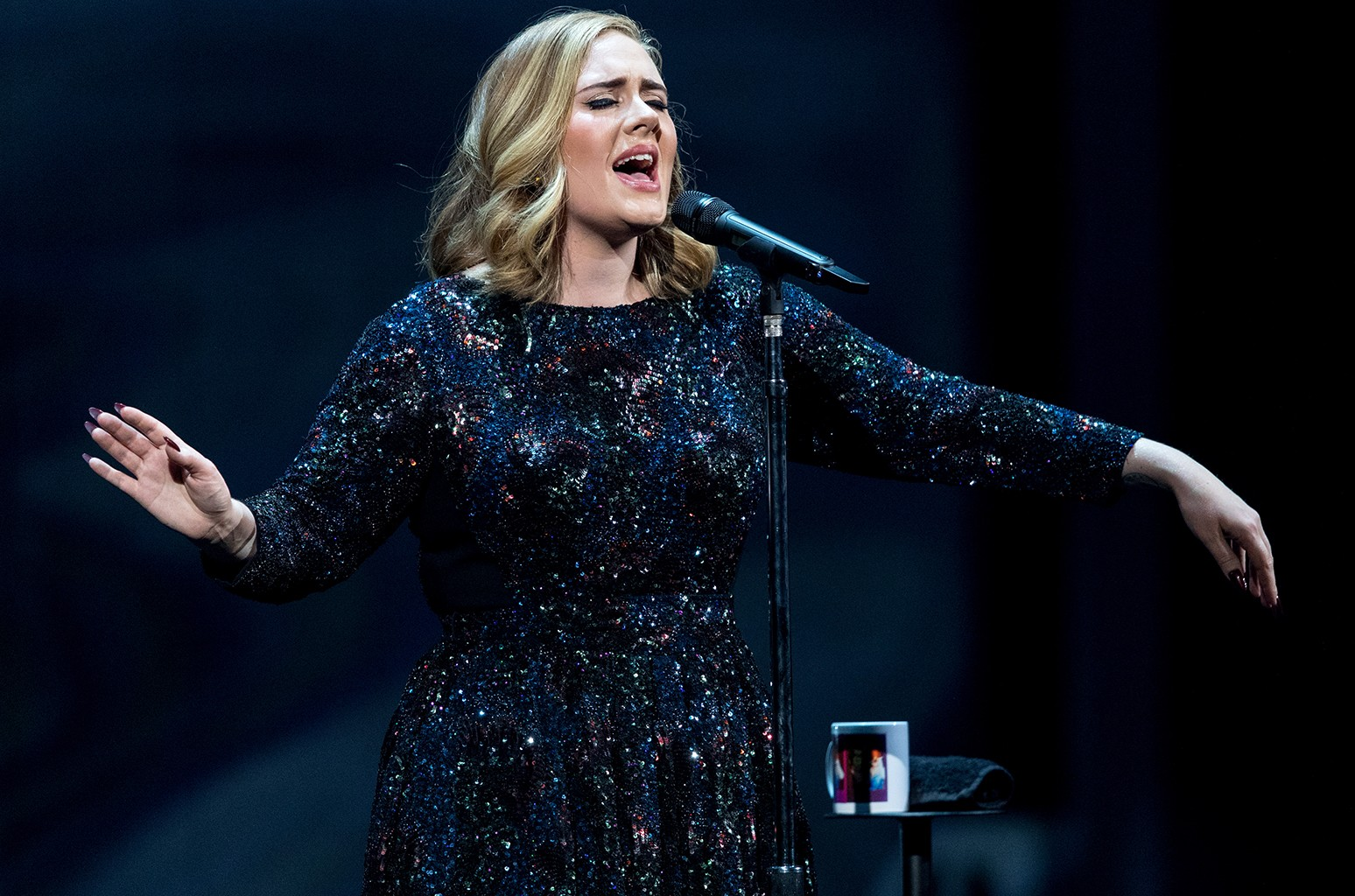 Adele performs in 2016