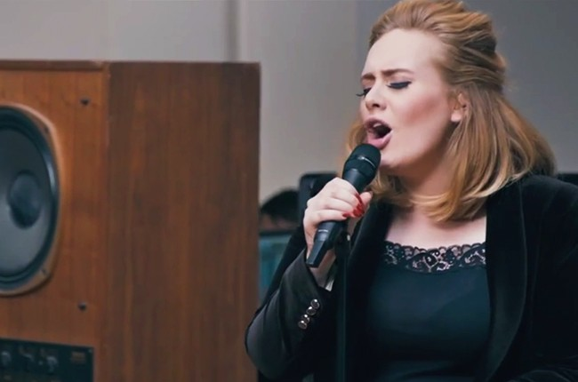 adele, when we were young, video, 2015