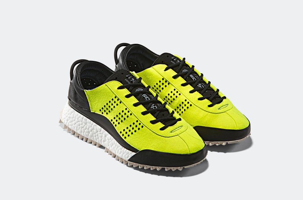 "Adidas Original x Alexander Wang ""Hike Lo"" in Solar Yellow"