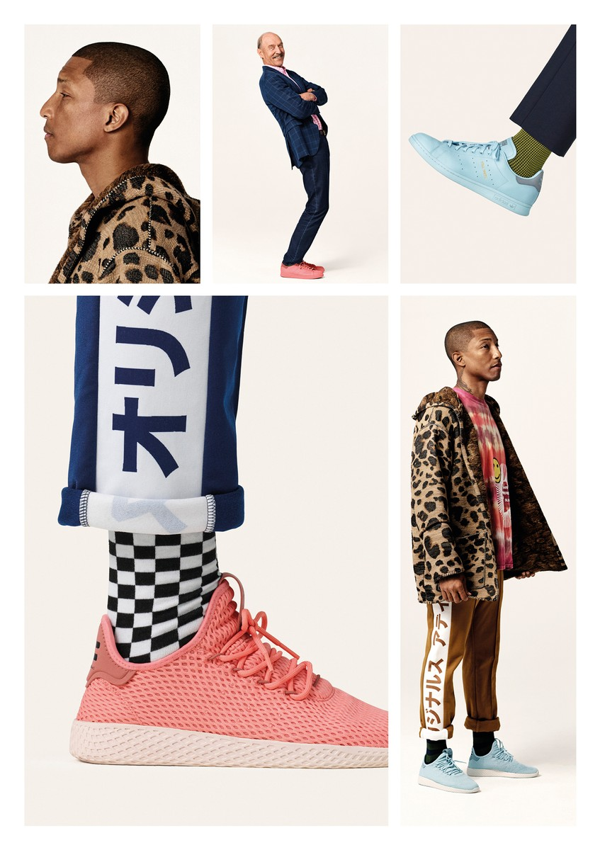 """Adidas x Pharrell WIlliams Tennis Hu """"Solid"""" Pack Collection"""