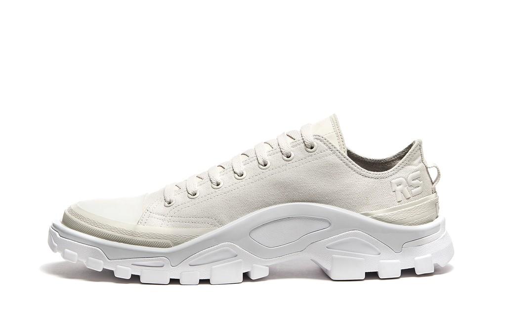 Adidas x Raf Simons Detroit Runners in white