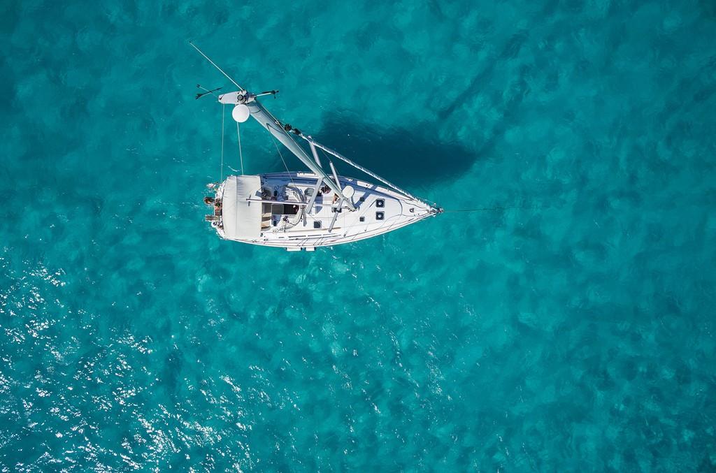 aerial sailboat