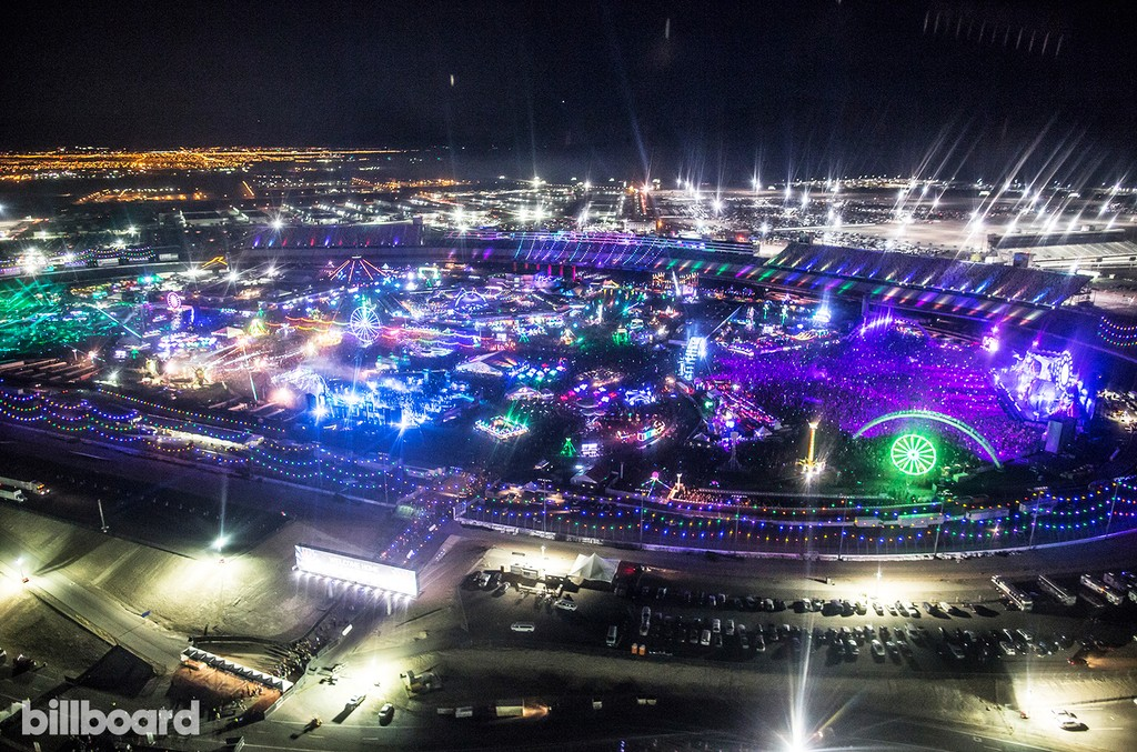 Day 3 of EDC Las Vegas on June 19, 2016.