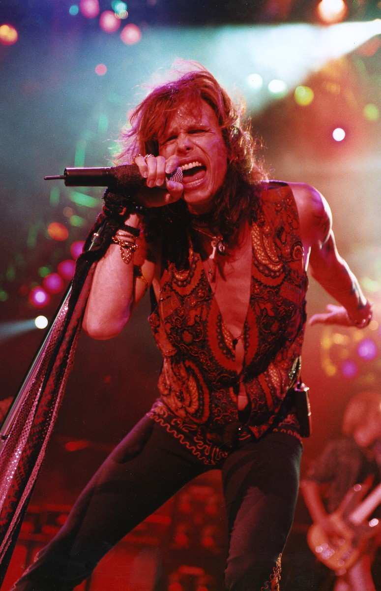Steven Tyler of Aerosmith, 1998