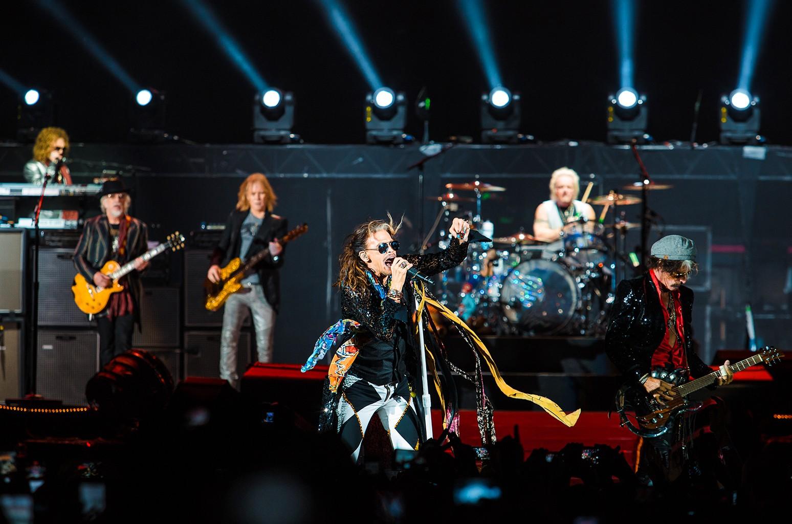 Aerosmith, 2016