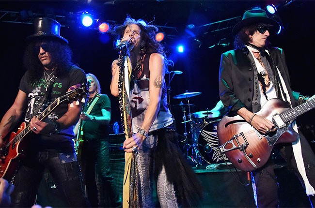 Aerosmith and Slash announce Let Rock Rule Tour