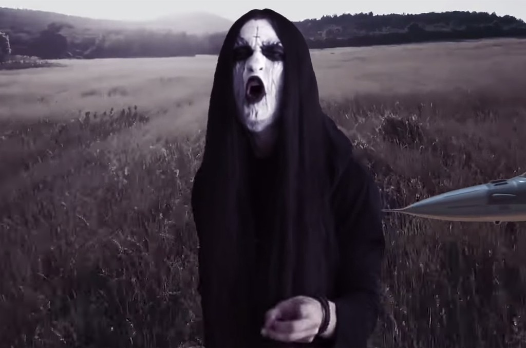 "Woods Of Trees's black metal version of Toto's ""Africa"""