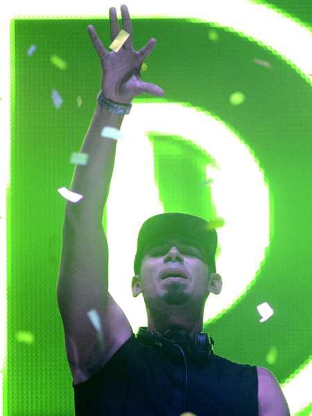 Afrojack performs during the Ultra Music Festival 2015