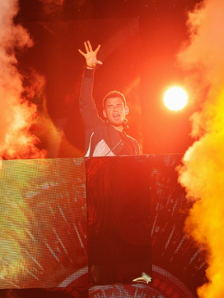 Afrojack performs onstage at the 2015 Billboard Latin Music Awards