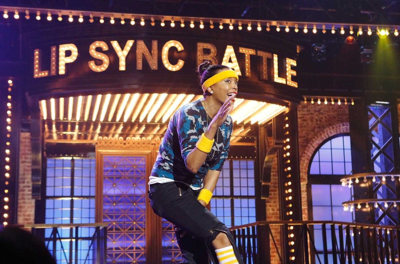 """Aisha Tyler on """"Lip Sync Battle"""""""