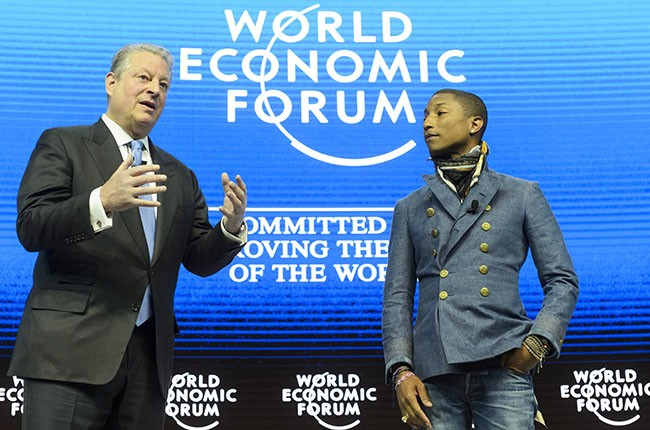 Al Gore and Pharrell