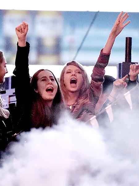 Alana Haim and Taylor Swift