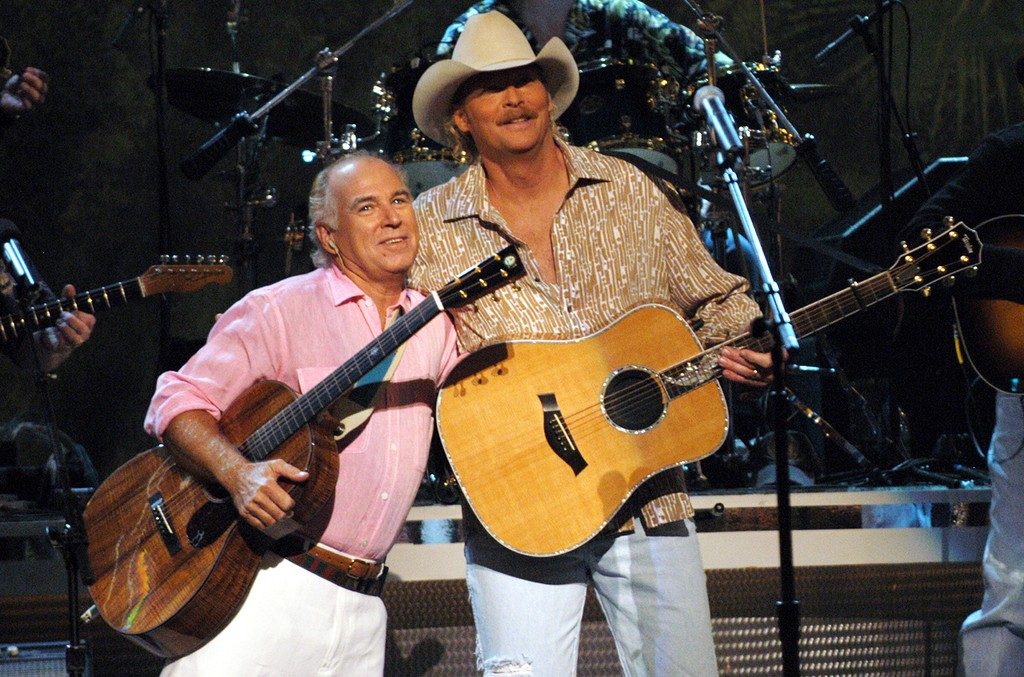 Jimmy Buffett and Alan Jackson