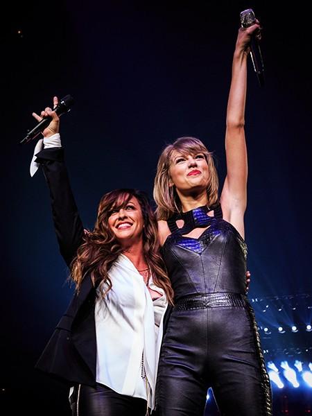 Alanis Morissette joins Taylor Swift