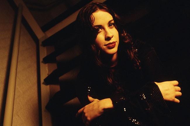 Alanis Morrissette, 1995.