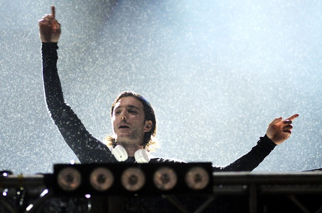 Alesso performs during the Ultra Music Festival 2015