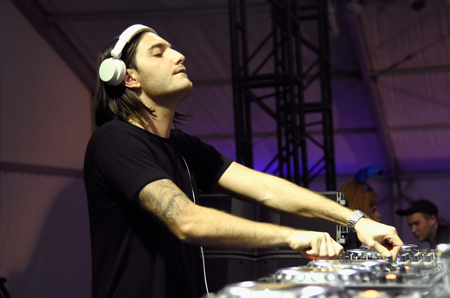 DJ Alesso performs in 2016