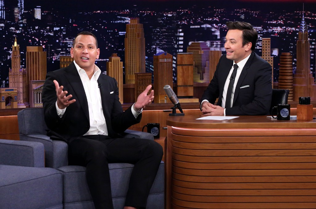 Alex Rodriguez, Jimmy Fallon, The Tonight Show Starring Jimmy Fallon