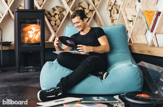 Co-Founder/CEO of Soundcloud Alexander Ljung photographed at the Soundcloud offices in Berlin on Aug. 18, 2015.