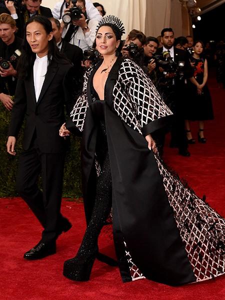 Alexander Wang and Lady Gaga