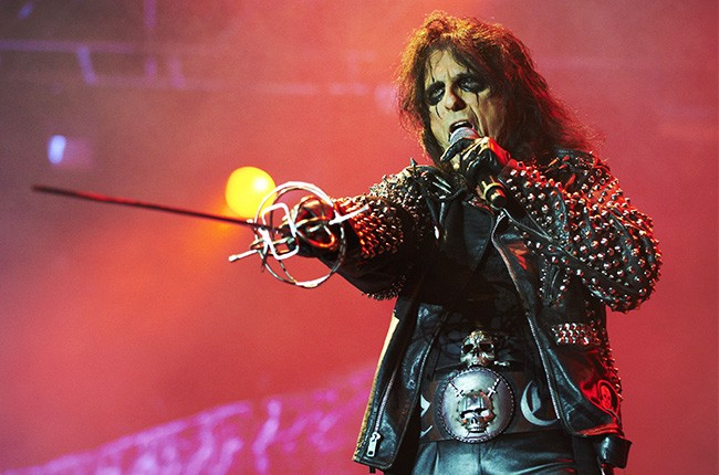 Alice Cooper performs at Bloodstock Open Air on Aug. 12, 2012