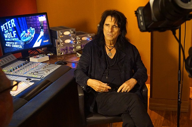 """Alice Cooper to narrate """"Peter and The Wolf in Hollywood"""""""