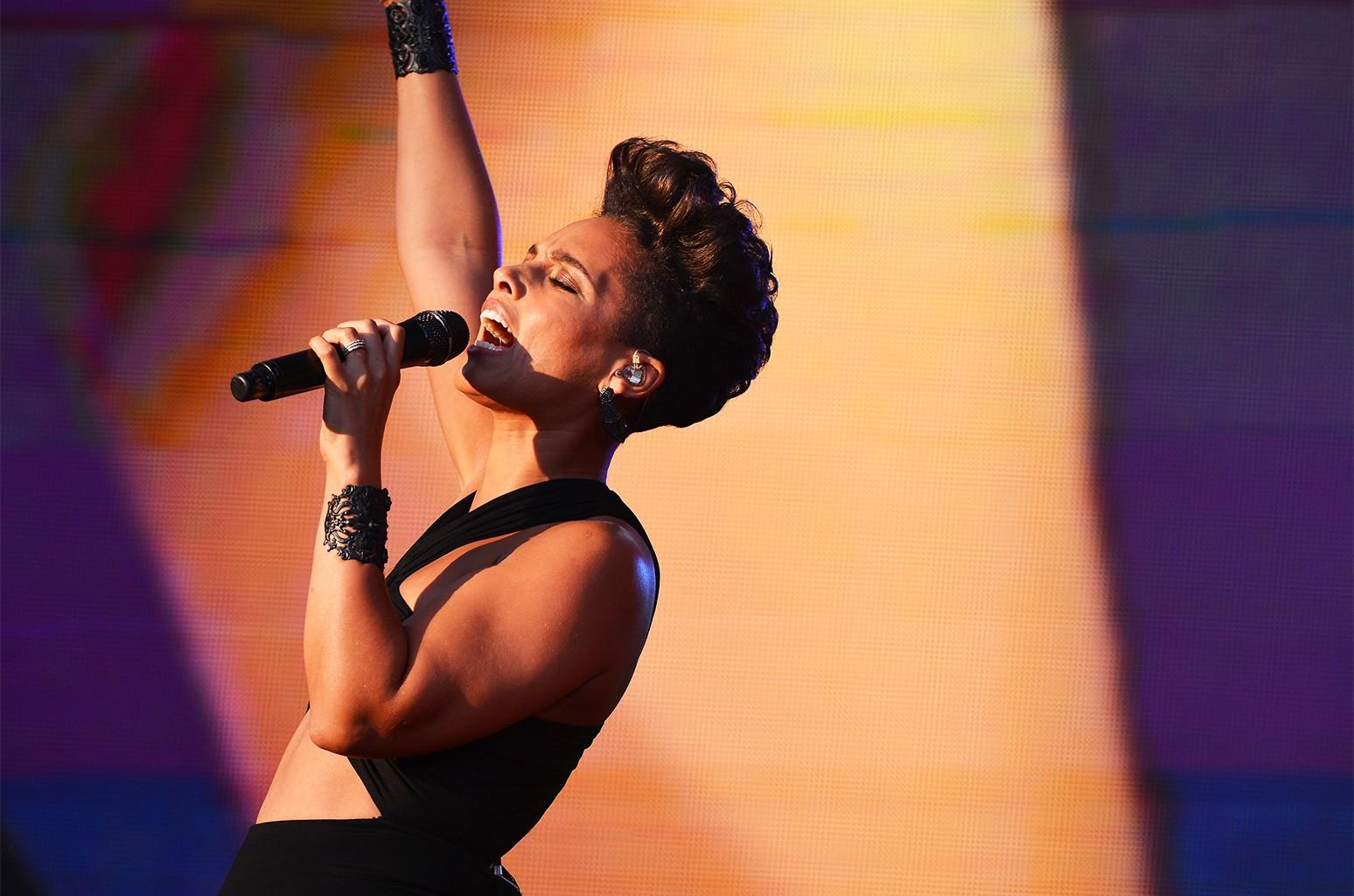 Alicia Keys, 2013 Global Citizen Festival