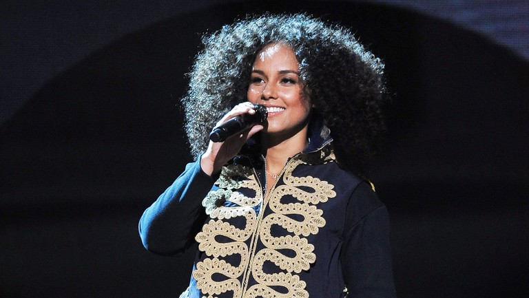 <p>Alicia Keys performs onstage during BET Networks 2016 Upfront at Rose Hall at Jazz at Lincoln Center on April 20, 2016 in New York City.&nbsp&#x3B;</p>