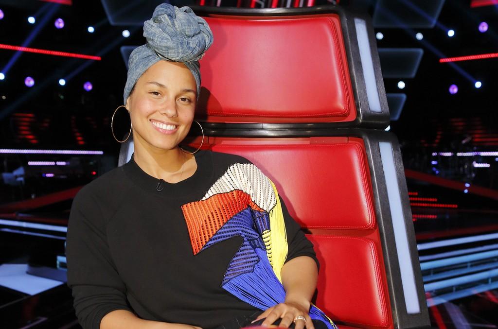Alicia Keys on The Voice
