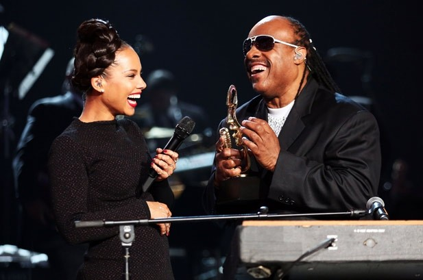 Alicia Keys & Stevie Wonder