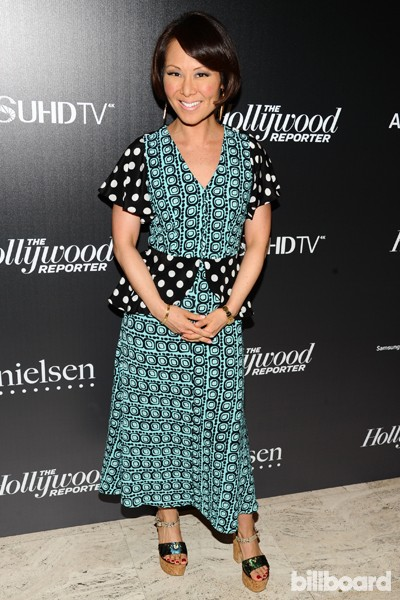 Alina Cho attends The 35 Most Powerful People in Media hosted by The Hollywood Reporter