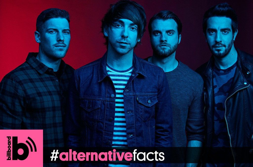 Billboard's #AlternativeFacts Podcast: All Time Low