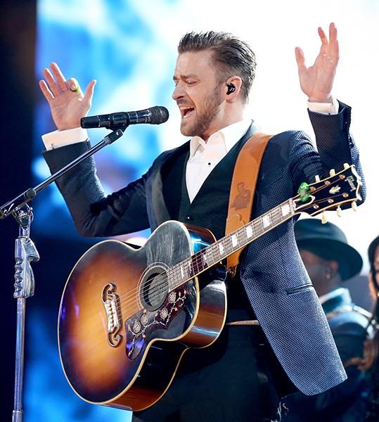 Justin Timberlake in 2013