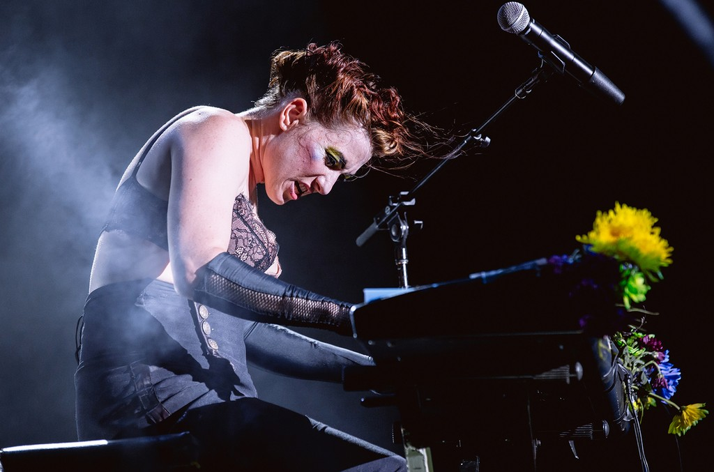 Amanda Palmer performs in 2016