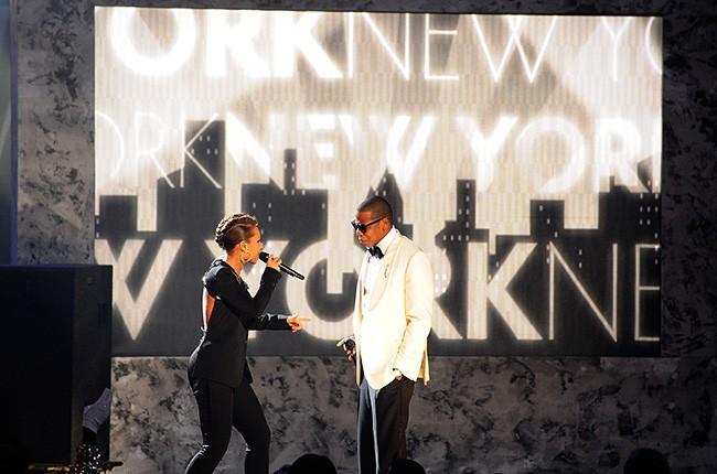 Alicia Keys & Jay Z in 2009