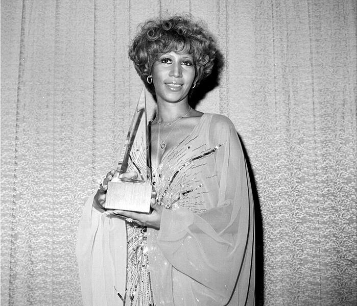 Aretha Franklin in 1977