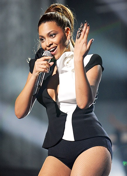 Beyonce in 2008