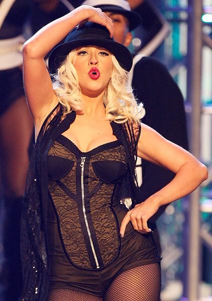 Christina Aguilera in 2008