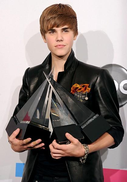 Justin Bieber in 2010